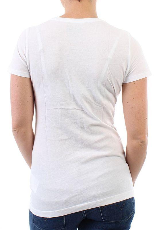 Converse T-Shirt Women - HEART CREW 06356 - White – Bild 2
