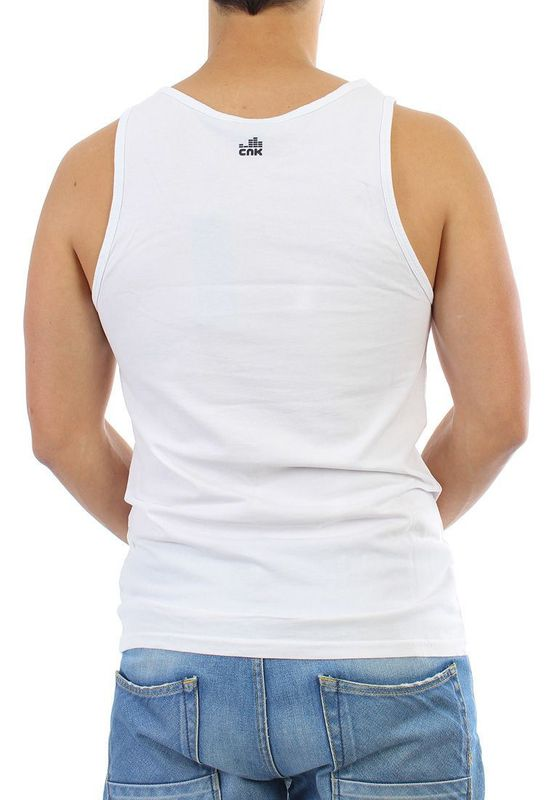 Chunk Tank Men - THE SAINTS - Winter White – Bild 2