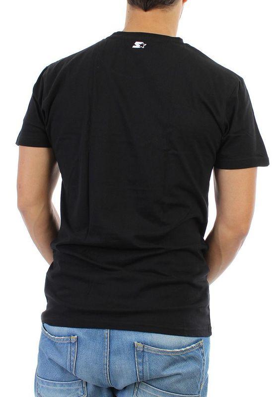 Starter T-Shirt Men - CORE TEE - Black-White – Bild 2