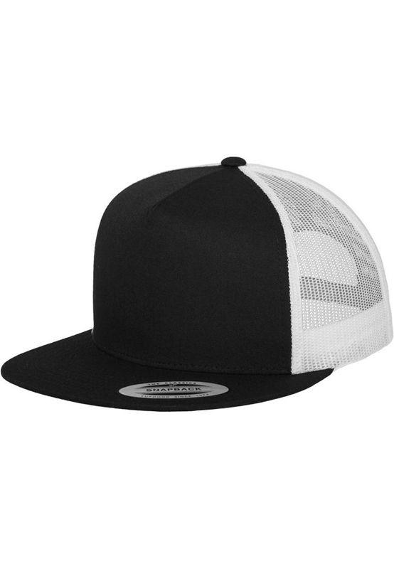 Flexfit Snapback - CLASSIC TRUCKER 2 TONE - Black-White – Bild 1