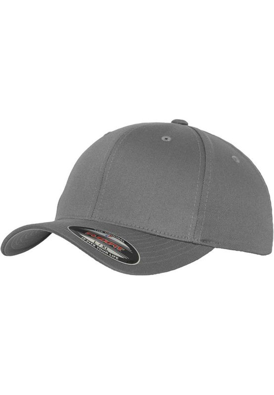 Flexfit Fitted Cap - WOOLY COMBED 6277 - Grey – Bild 1