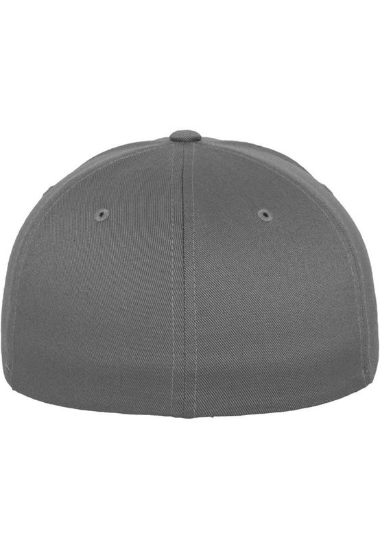 Flexfit Fitted Cap - WOOLY COMBED 6277 - Grey – Bild 3