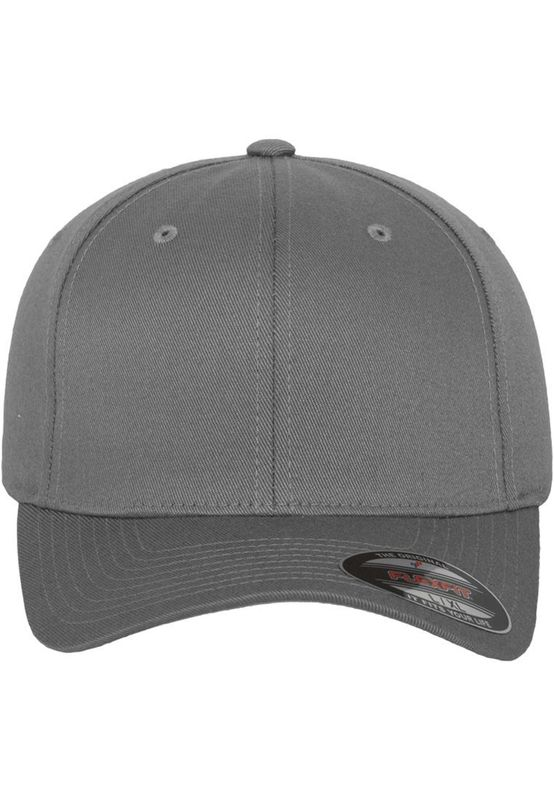 Flexfit Fitted Cap - WOOLY COMBED 6277 - Grey – Bild 2