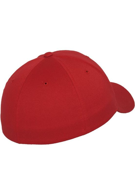 Flexfit Fitted Cap - WOOLY COMBED 6277 - Red – Bild 3