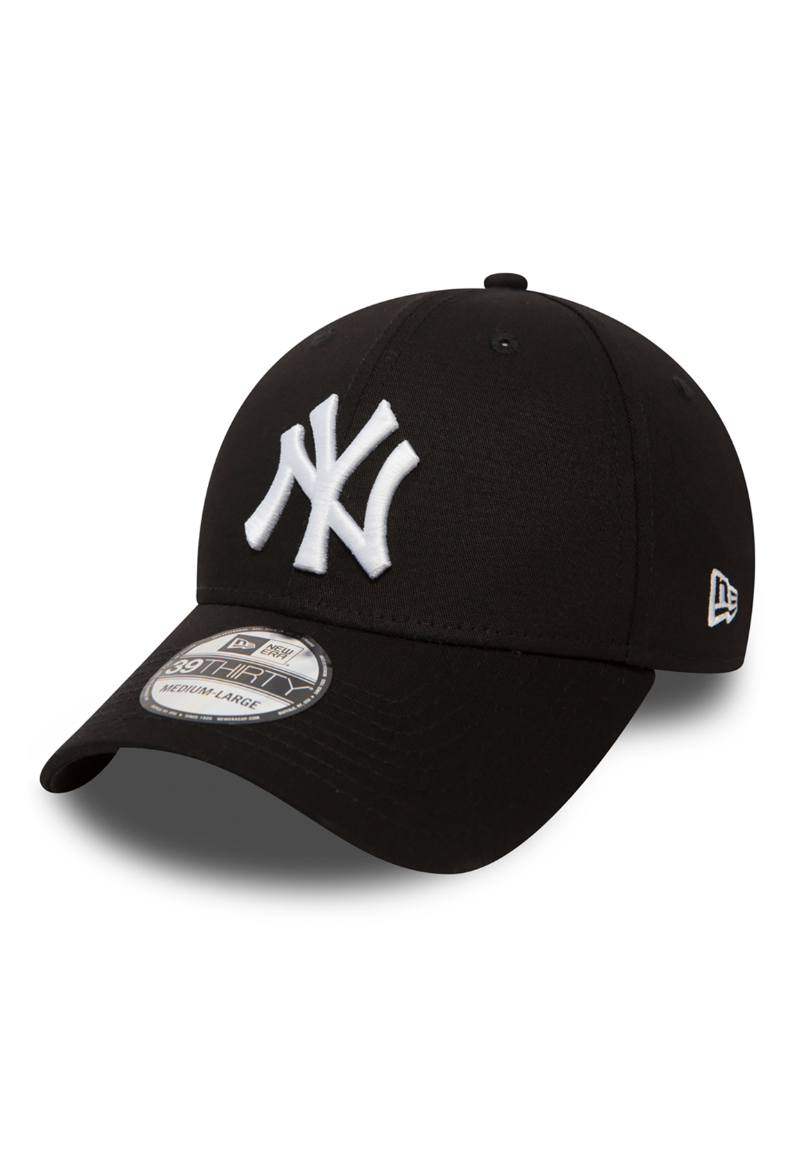 a9e9c8497 Details about New Era 39Thirty League Cap - Ny Yankees - Black-White