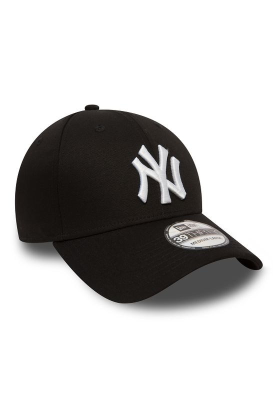 New Era 39Thirty League Cap - NY YANKEES - Black-White – Bild 1