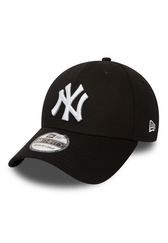New Era 39Thirty League Cap - NY YANKEES - Black-White – Bild 0