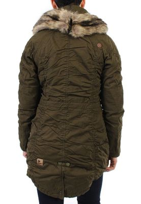 Khujo Parka Women - NOME WITH INNER JACKET - Olive – Bild 1