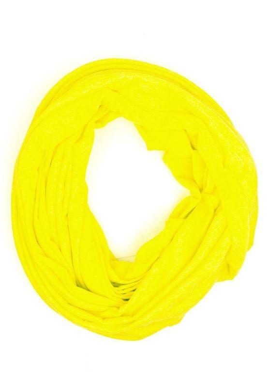 Be Famous Schal - SUMMER JERSEY LOOP SV02 - Heather Yellow Ansicht