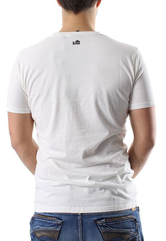 Chunk T-Shirt Men HAPPY Winter White – Bild 1