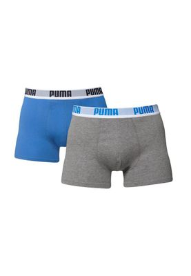 Puma 2 Pack Boxershorts Men BOXER Blue Grey