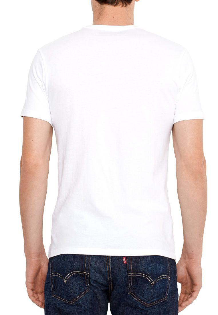 levis rundhals t shirts doppelpack 82176 0002 wei herren. Black Bedroom Furniture Sets. Home Design Ideas