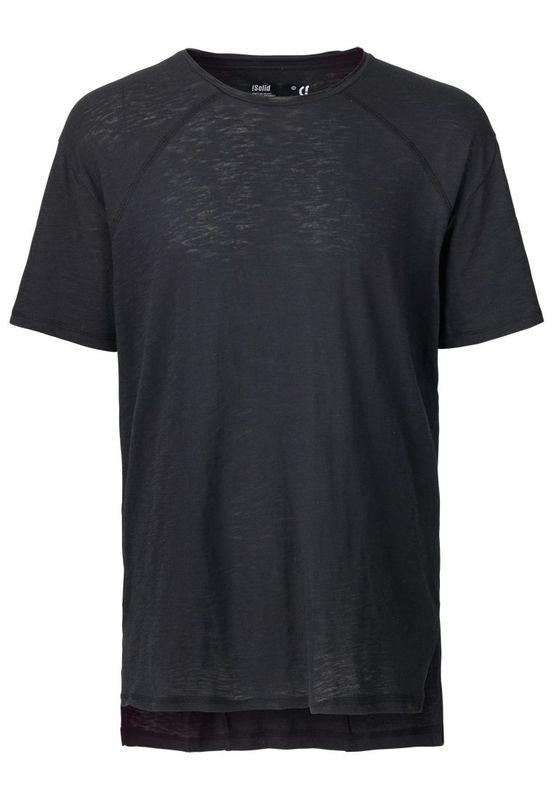 Solid Longshirt Men SIMPSON Jet Black Ansicht
