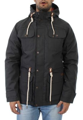 Solid Parka Men PISANIO Dark Grey – Bild 0