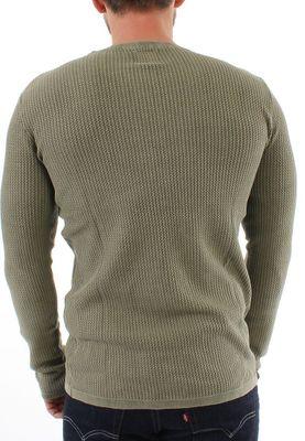 Solid Pullover Men STANLEY Ivy Green – Bild 1