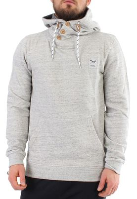 iriedaily Sweater Men CHAMISSO UP Grey Melange – Bild 0