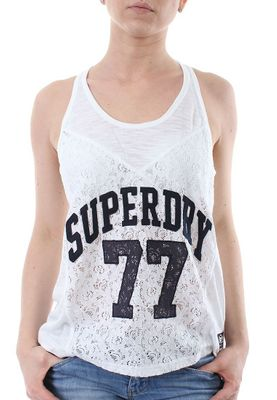 Superdry Tank Women ATHLETIC LACE Optic – Bild 0