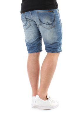 Superdry Shorts Men OFFICER DENIM Quarry Used – Bild 1