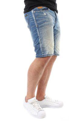 Superdry Shorts Men OFFICER DENIM Quarry Used – Bild 2