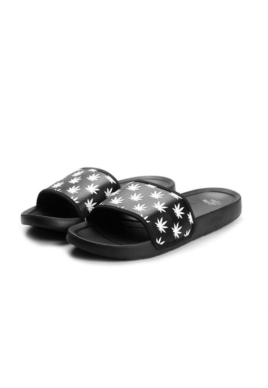 Cayler & Sons Sandalen Men BEST BUDZ Black White Ansicht