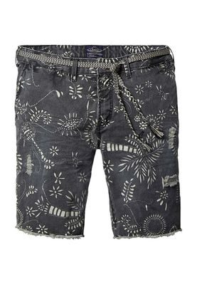 Scotch & Soda Shorts Men 16-SSMM-C81 Anthrazit B 131030