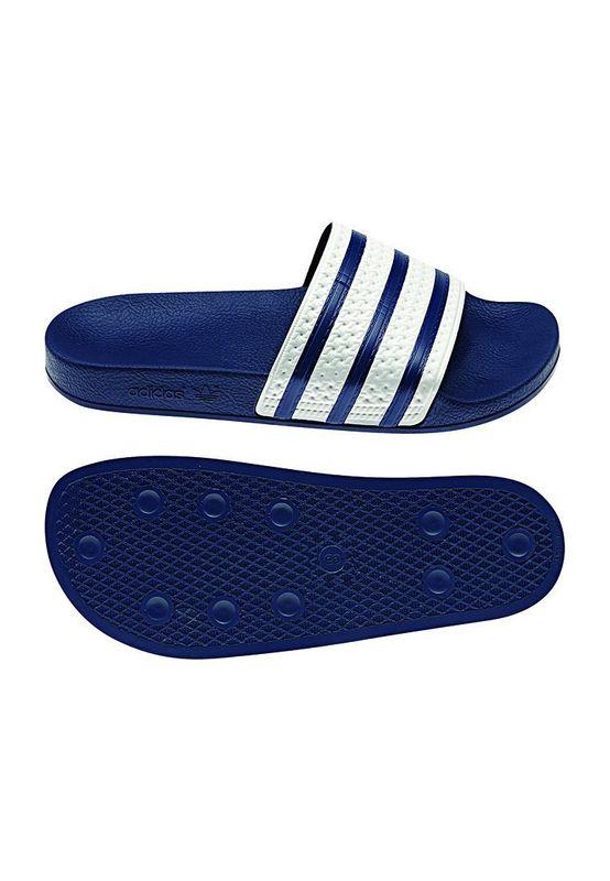 Adidas Originals Badelatschen ADILETTE G16220 Blau Weiß Ansicht