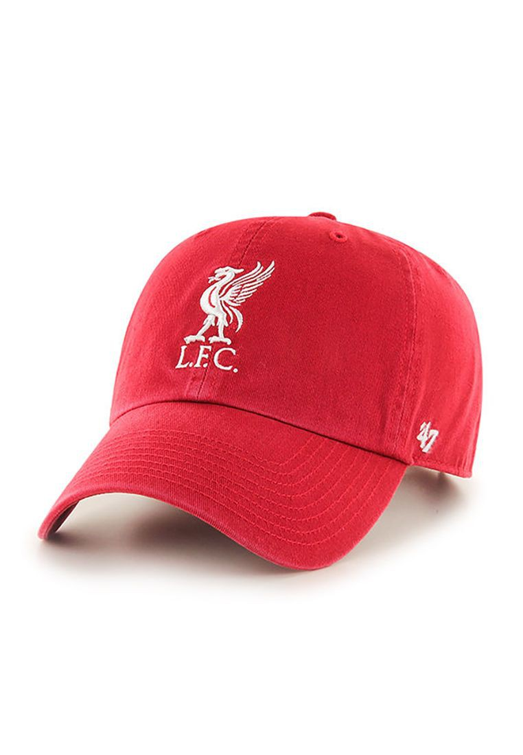 47 Brand EPL LFC Logo Clean Up Strapback LIVERPOOL FC Rot