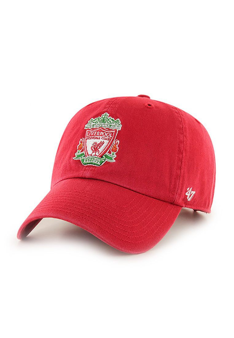 47 Brand EPL Official Logo Clean Up Strapback LIVERPOOL FC Rot