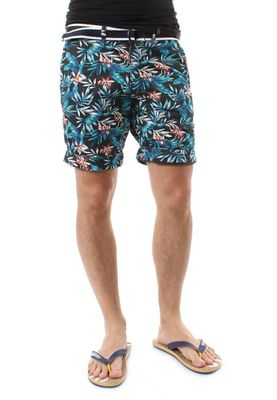 Superdry Shorts Men INTERNATIONAL PRINT CHINO SHORT Washed Black Aloha Print – Bild 2