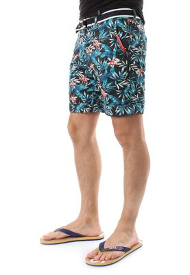 Superdry Shorts Men INTERNATIONAL PRINT CHINO SHORT Washed Black Aloha Print – Bild 3