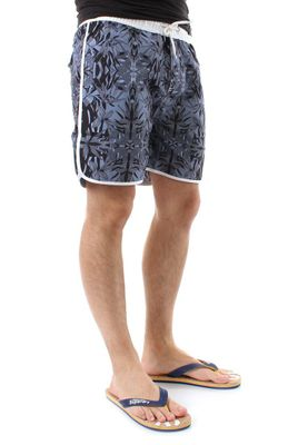 Solid Badeshorts Men BAIN Black – Bild 1