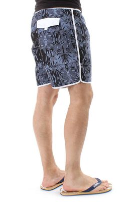 Solid Badeshorts Men BAIN Black – Bild 3