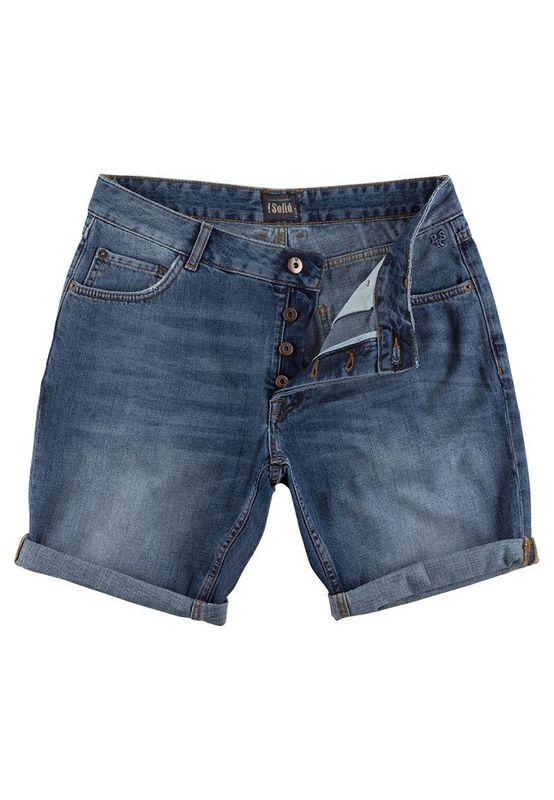 Solid Jeansshorts Men LT JOY STRETCH Medium Use Ansicht