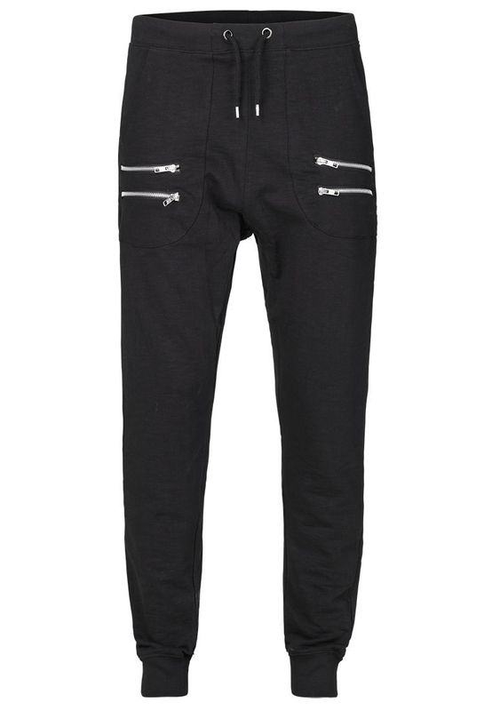 Solid Sweatpants Men BEAL Black Ansicht