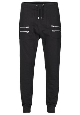 Solid Sweatpants Men BEAL Black