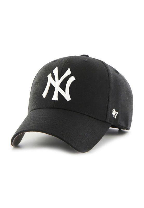 47 Brand MVP17 Adjustable Cap NY YANKEES Schwarz – Bild 0