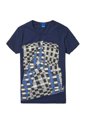 Scotch & Soda T-Shirt Men CONCEPT 100092 Dunkelblau 58