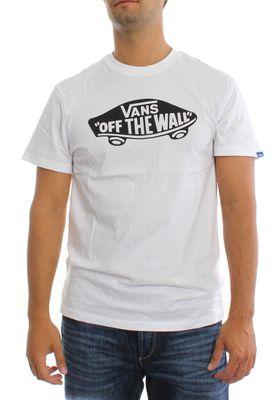 Vans T-Shirt Men VANS OTW VJAYYB2 White Black – Bild 0