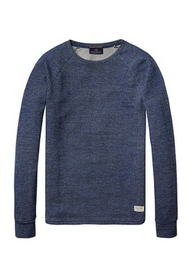 Scotch & Soda Pullover Men CLASSIC CREWNECK 101500 Blau 20