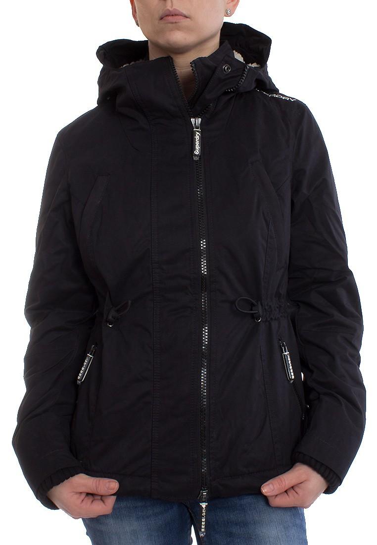 size 40 4301b 1a28b Superdry Winterjacke Women MICRFBRE BXY SNRKLE Black