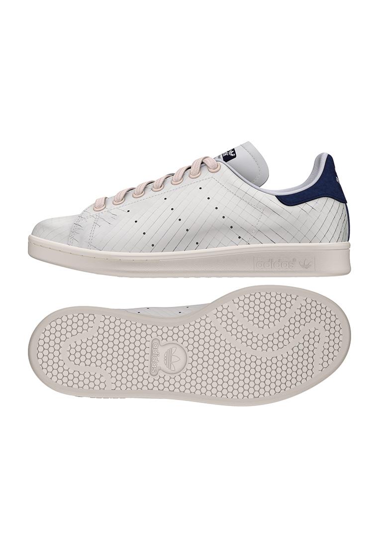 Adidas Sneakers Donne STAN SMITH W s32259 bianco blu scuro