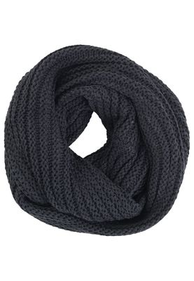 Solid Loopschal EFUOSA Dark Grey