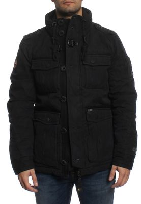 Khujo Jacke Men AKULE WITH INNER JACKET Black – Bild 0