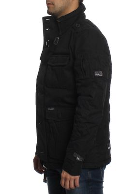 Khujo Jacke Men AKULE WITH INNER JACKET Black – Bild 2
