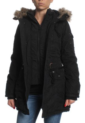 Khujo Jacke Women EIVOLA WITH INNER JACKET Black – Bild 2