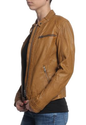 Oakwood Lederjacke Women HOLA 62053 Whisky 508 – Bild 2