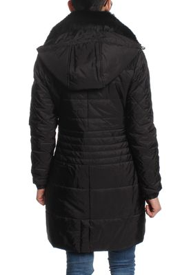 Nickelson Mantel Women ALPINE Black – Bild 1
