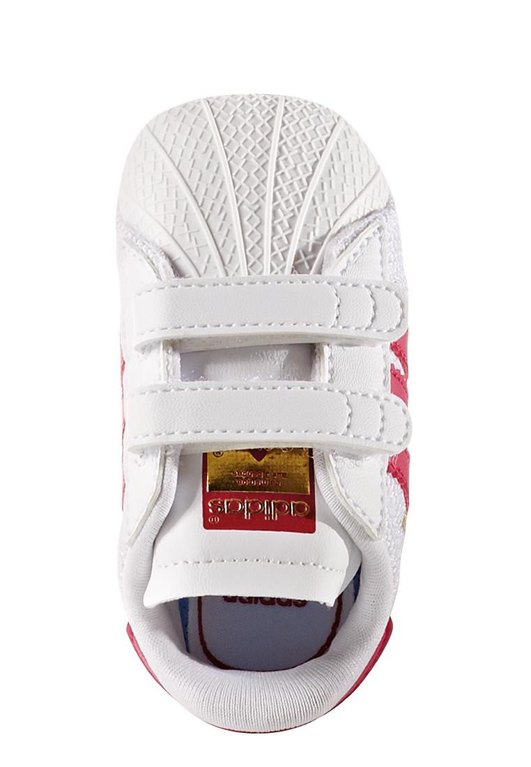 Adidas Babyschuhe SUPERSTAR CRIB S79917 Weiß Pink Schuhe Kinder e794b8d8c5
