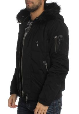Khujo Jacke Men PUCK Black – Bild 2