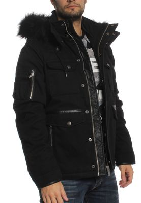 Khujo Jacke Men BRANCH Black – Bild 1